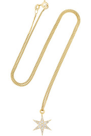 + Zoe and Morgan Fine Jewelry 9-karat gold diamond necklace