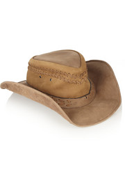 Finds + Planet Cowboy Six Shooter nubuck cowboy hat
