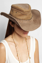 Planet Cowboy Six Shooter nubuck cowboy hat