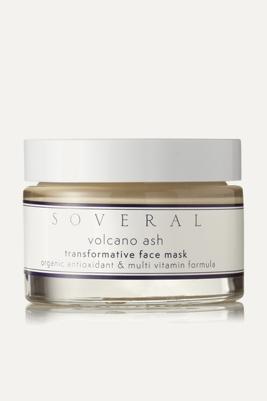 SOVERAL VOLCANO ASH TRANSFORMATIVE MASK, 50ML - COLORLESS