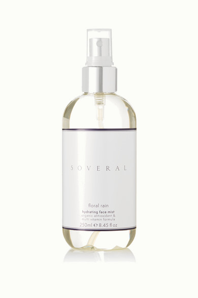 SOVERAL Floral Rain Toning Mist - Rose & Neroli, 250Ml in Colorless
