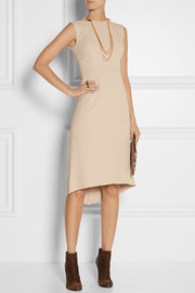 Victor Alfaro Paneled stretch-cady dress