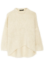 Oversized mohair-blend sweater