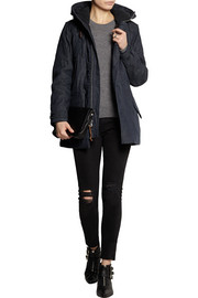 J.Crew Collection hooded denim parka