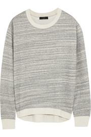 J.Crew Cotton-blend jersey sweatshirt