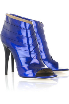Giuseppe Zanotti | Patent leather ankle boots | NET-A-PORTER.COM :  netaportercom patent leather ankle boots designer fashion giuseppe zanotti
