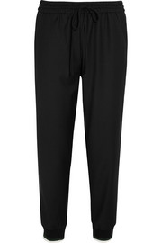 J.Crew Drapey stretch wool-blend tapered pants