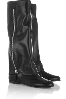 Giuseppe Zanotti Zipped gaiter-style leather boots