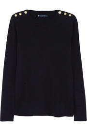 Petit Bateau Buttoned cotton sweater
