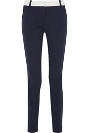 Cotton-jersey tapered pants