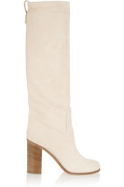 Fendi Suede knee boots