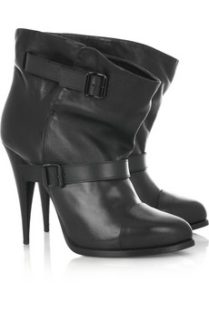 Givenchy Bianco leather boots