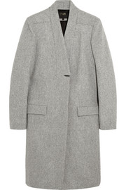Klinton wool-felt coat