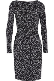 MICHAEL Michael Kors Ellensburg printed stretch-jersey dress