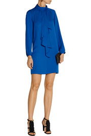 MICHAEL Michael Kors Ruffled silk dress