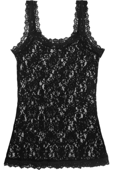 9164e3ff9bd Hanky Panky. Signature stretch-lace camisole