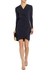 MICHAEL Michael Kors Wrap-effect stretch-jersey dress