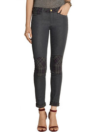 GENETIC X Liberty Ross Moto-style mid-rise skinny jeans