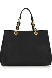 Cynthia medium textured-leather tote