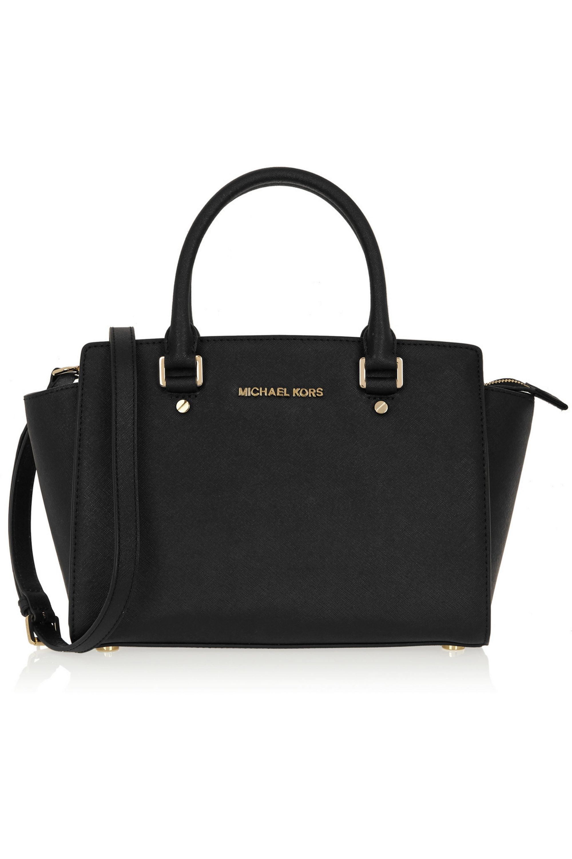 MICHAEL Michael Kors Selma medium textured-leather tote
