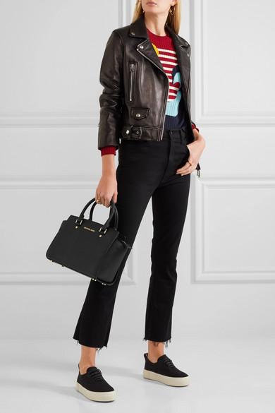 2c4bdf878b20 MICHAEL Michael Kors | Selma medium textured-leather tote | NET-A ...