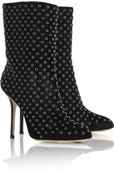 Jimmy Choo Gillian suede ankle boots