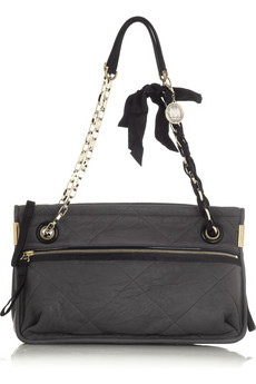 Lanvin Amalia Sac leather quilted bag