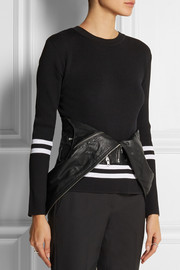 Dion Lee Leather biker waist belt