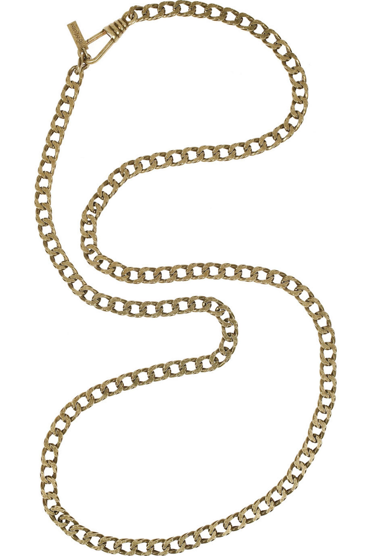 Yves Saint Laurent Chain-link necklace