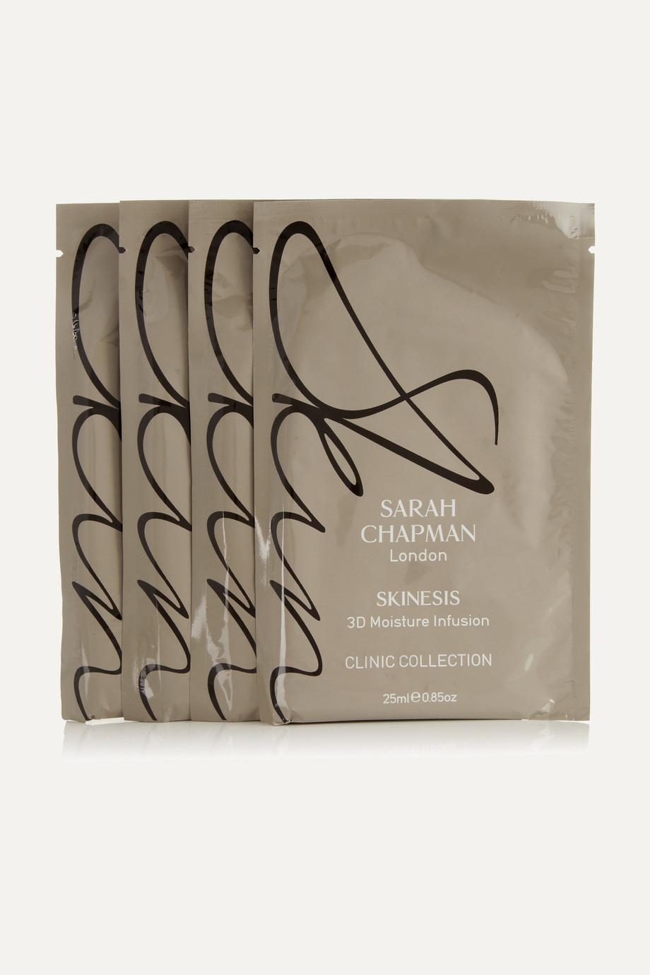 Sarah Chapman 3D Moisture Infusion Mask, 4 x 25ml