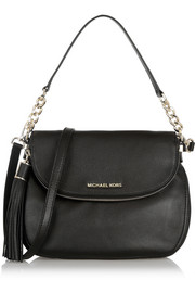 Bedford textured-leather shoulder bag
