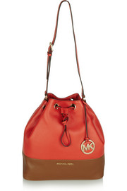 MICHAEL Michael Kors Jules two-tone leather bucket bag