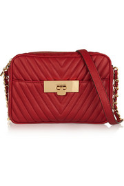 MICHAEL Michael Kors Susannah small quilted leather shoulder bag