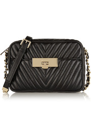 MICHAEL Michael Kors Susannah quilted leather shoulder bag
