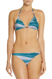 Orlebar Brown Ipanema and Barletta printed triangle bikini