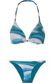 Ipanema and Barletta printed triangle bikini