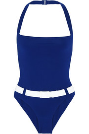 Portsea belted swimsuit