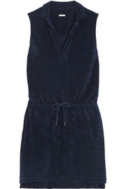Sanremo cotton-terry mini dress