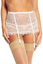 Annoushka lace suspender belt