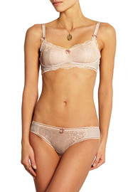 Reilley Adoring stretch-lace and jersey maternity bra