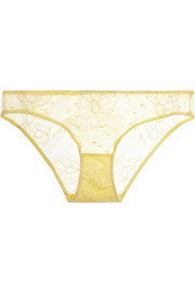Stella McCartney Scarlett Weaving lace briefs