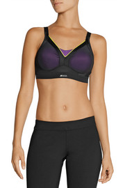Shock Absorber Active Shaped mesh and stretch-jersey sports bra