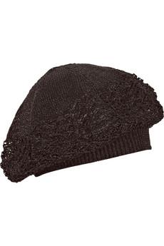 MissoniMetallic knitted beanie