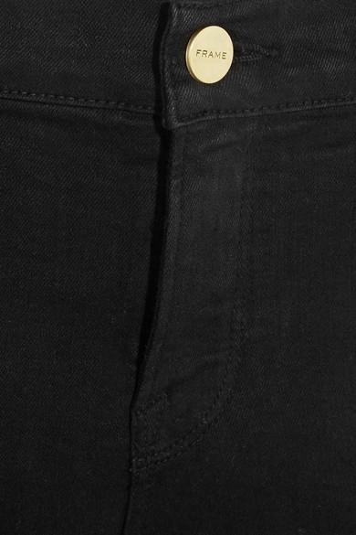 FRAME Le Color halbhohe verkürzte Skinny Jeans