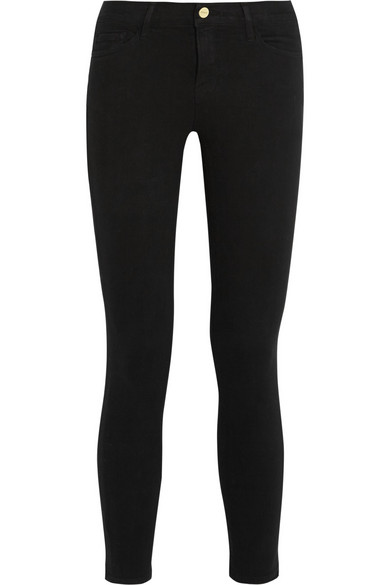 0c3bf9ac550 FRAME. Le Color cropped mid-rise skinny jeans