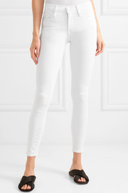 Frame Denim Le Color mid-rise skinny jeans