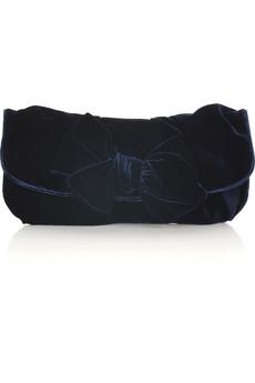Miu MiuVelvet bow clutch bag