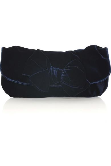 Miu Miu. Velvet bow clutch bag e8a0e6b9cf6e6