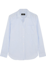 A.P.C. Atelier de Production et de Création Audrey striped cotton shirt