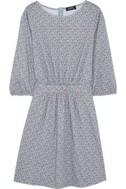A.P.C. Atelier de Production et de Création Flore printed cotton-jersey mini-dress